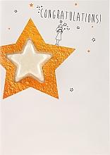 Profumi e cosmetici Bomba da bagno - Bomb Cosmetics Congratulations Star Blastercard Bath Bomb Card Graduation Gift