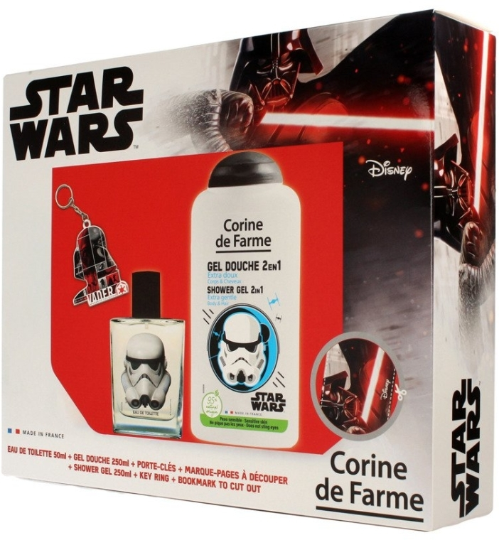 Corine de Farme Star Wars - Set (edt/50ml +sh/gel/250ml + accessories)