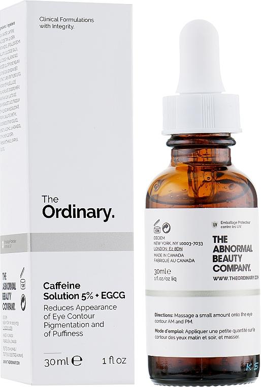 Siero contorno occhi - The Ordinary Caffeine Solution 5% + EGCG