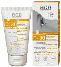 Profumi e cosmetici Crema solare waterproof SPF 30 con effetto abbronzante - Eco Cosmetics Sonne SLF 30 Getoent