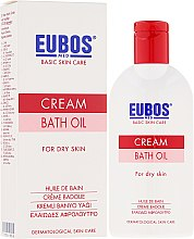 Profumi e cosmetici Olio da bagno - Eubos Med Basic Skin Care Cream Bath Oil For Dry Skin