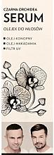 """Profumi e cosmetici Siero oleoso per capelli """"Black Orchid"""" - WS Academy Black Orchid Serum Oil"""