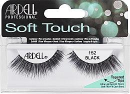 Profumi e cosmetici Ciglia finte - Ardell Soft Touch Eye Lashes Black 152