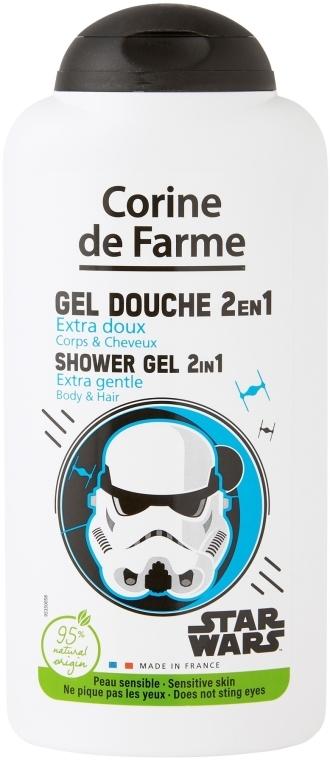 Shampoo-gel doccia 2 in 1 per bambino - Corine de Farme Star Wars Force