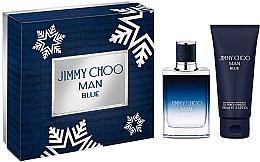 Profumi e cosmetici Jimmy Choo Man Blue - Set (edt/50ml + sh/gel100ml)