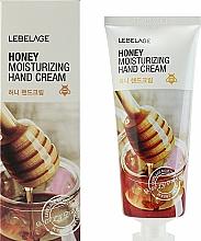 Profumi e cosmetici Crema mani al miele - Lebelage Honey Moisturizing Hand Cream