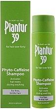 Profumi e cosmetici Shampoo anticaduta per capelli sottili e fragili - Plantur 39 Coffein Shampoo