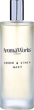 """Profumi e cosmetici Spray per ambienti """"Spiritualità"""" - AromaWorks Soulful Room Mist"""