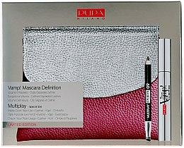 Profumi e cosmetici Set - Pupa VAMP! Mascara Definition & Multiplay (mascara/9/ml+pensil/bag)