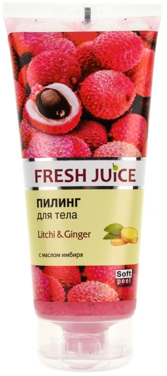 "Scrub corpo ""Litchi e zenzero"" - Fresh Juice Litchi & Ginger"