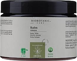 Profumi e cosmetici Balsamo per capelli con olio di semi di canapa - BioBotanic Silk Wave Hemp Balm