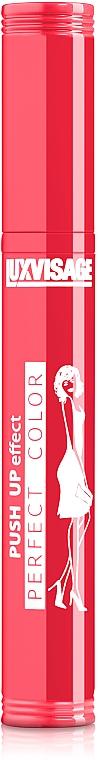 Mascara per le ciglia - Luxvisage Perfect Color Push Up Effect Mascara