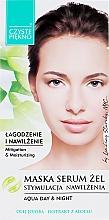 Profumi e cosmetici Maschera-siero viso al aloe - Czyste Piekno Face Mask Serum Gel