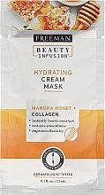 Profumi e cosmetici Maschera viso - Freeman Beauty Infusion Hydrating Cream Mask Manuka Honey + Collagen (mini)