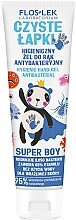 Profumi e cosmetici Gel antibatterico per mani - Floslek Super Boy Hygienic Antibacterial Hand Gel