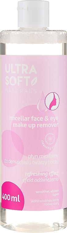 Acqua micellare struccante - Ultra Soft Naturals Micellar Face Make Up Remover