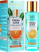 Profumi e cosmetici Idro-essenza idratante con acqua bioattiva di agrumi - Bielenda Fresh Juice Hydro Essential Orange