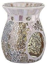 Profumi e cosmetici Aroma lampada - Yankee Candle Wax Burner Gold & Pearl