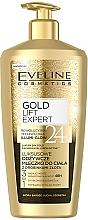 Profumi e cosmetici Latte corpo, con particelle d'oro - Eveline Cosmetics Gold Lift Expert 24K