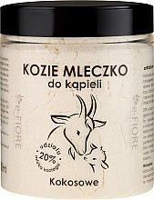 """Profumi e cosmetici Latte di capra per il bagno """"Cocco"""" - E-Fiore Coconut Bath Milk"""