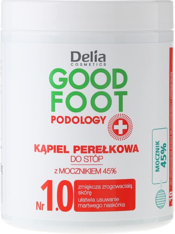 Sale da bagno per pediluvio - Delia Cosmetics Good Foot Podology Nr 1.0