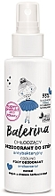 Profumi e cosmetici Deodorante antibatterico per piedi - Floslek Balerina Cooling Foot Deodorant Antibacterial