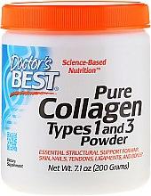 Profumi e cosmetici Collagene di tipo 1 e 3 (in polvere) - Doctor's Best Best Collagen Types 1 & 3 Powder