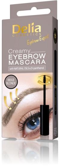 Mascara cremoso per le sopracciglia - Delia Creamy Eyebrow Mascara