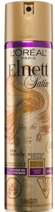Lacca per capelli con olio di argan - L'Oreal Paris Elnett Precious Oil Hair Spray