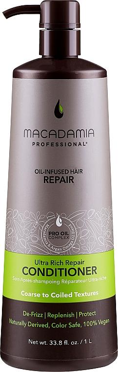 Balsamo per il restauro dei capelli - Macadamia Professional Ultra Rich Repair Conditioner