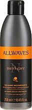 Profumi e cosmetici Condizionante per capelli danneggiati - Allwaves Nutri Care Regenerating conditioner