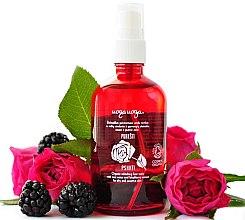 Profumi e cosmetici Tonico viso rinfrescante con acqua di rose ed estratto di mora - Uoga Uoga Refreshing Face Tonic