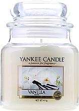 """Profumi e cosmetici Candela profumata in vetro """"Vaniglia"""" - Yankee Candle Vanilla"""