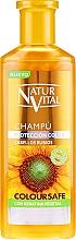 Profumi e cosmetici Shampoo per preservare il colore dei capelli tinti - Natur Vital Coloursafe Henna Colour Shampoo Blonde Hair