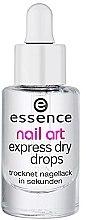 Profumi e cosmetici Lozione asciuga smalto - Essence Circus Circus Nail Art Express Dry Drops