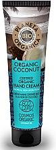 Profumi e cosmetici Crema mani idratante - Planeta Organica Organic Coconut Hand Cream