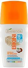 Profumi e cosmetici Spray al cocco per viso e capelli - Bielenda Bikini Tanning Mist SPF 15