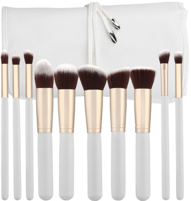 Set di pennelli per il trucco professionale, 10 pezzi - Tools For Beauty