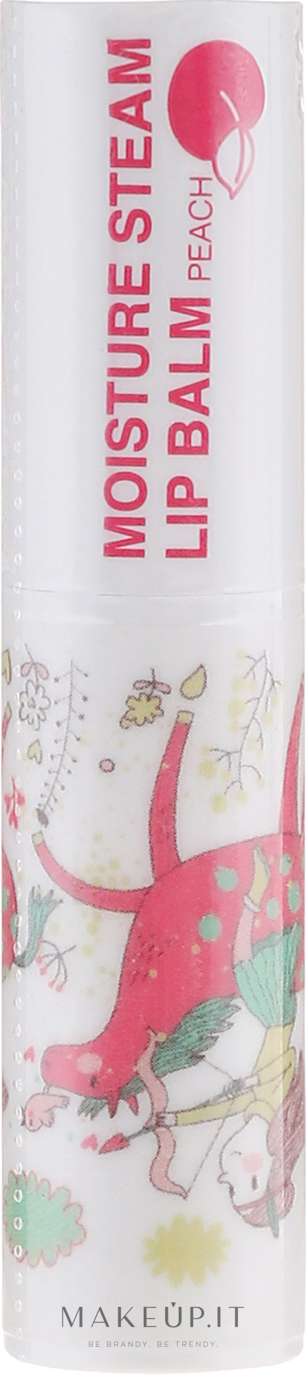 "Balsamo labbra nutriente ""Pesca"" - SeaNtree Moisture Steam Lip Peach 2 — foto 3.2 g"