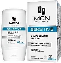 Profumi e cosmetici Gel dopobarba - AA Men Sensitive After-Shave Gel Cooling
