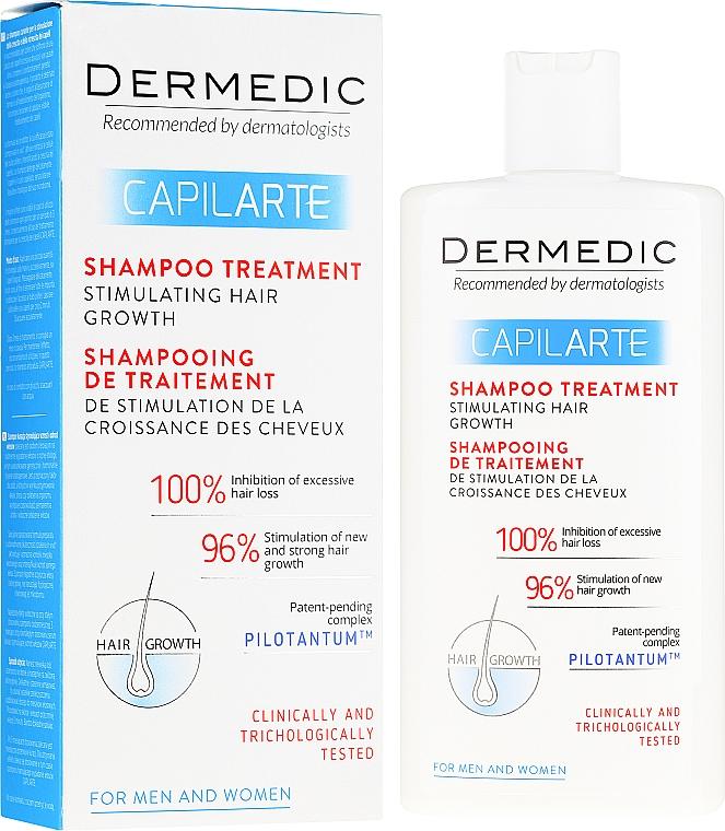 Shampoo-trattamento stimolante la crescita dei capelli - Dermedic Capilarte Shampoo