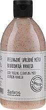 Profumi e cosmetici Latte doccia - Sefiros Body Peeling Cleansing Milk Bourbon Vanilla