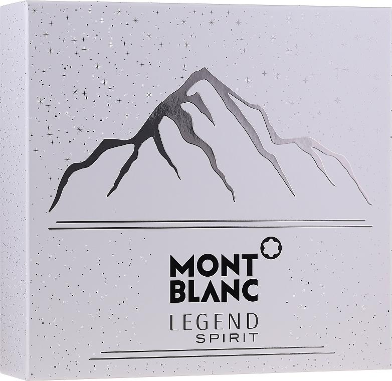 Montblanc Legend Spirit - Set (edt/100ml + ash/balm/100ml + sh/gel/100ml)