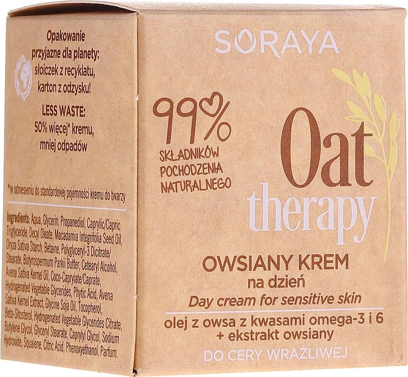 Crema da giorno alla farina d'avena per pelli sensibili - Soraya Oat Therapy Day Cream