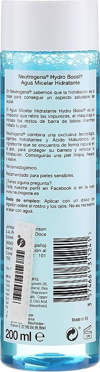 Acqua micellare - Neutrogena Hydro Boost Cleanser Micellar Water — foto N2
