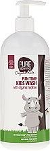 Profumi e cosmetici Gel doccia - Pure Beginnings Fun Time Kids Wash With Organic Rooibos
