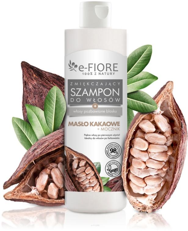 Shampoo per capelli con burro cacao e urea - E-Fiori