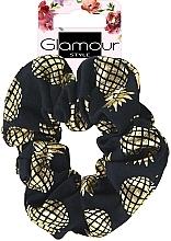 Profumi e cosmetici Elastico per capelli, 417609, nero dorato - Glamour