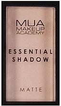 Profumi e cosmetici Ombretto - MUA Essential Shadow Matte (Mushroom)