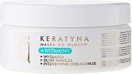 Maschera per capelli con cheratina e vitamine - Silcare Quin Keratin & Vitamins Hair Mask — foto N1